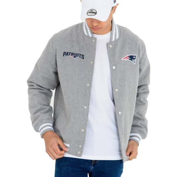 on sale 740c5 103a4 New England Patriots NFL Bomber Jacket