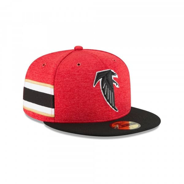 Atlanta Falcons Throwback 2018 NFL Sideline 59FIFTY Fitted Cap Home