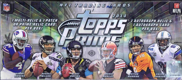 2014 Topps Prime Football Hobby Box NFL