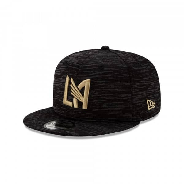 Los Angeles FC 2020 MLS On-Field Sideline 9FIFTY Snapback Cap