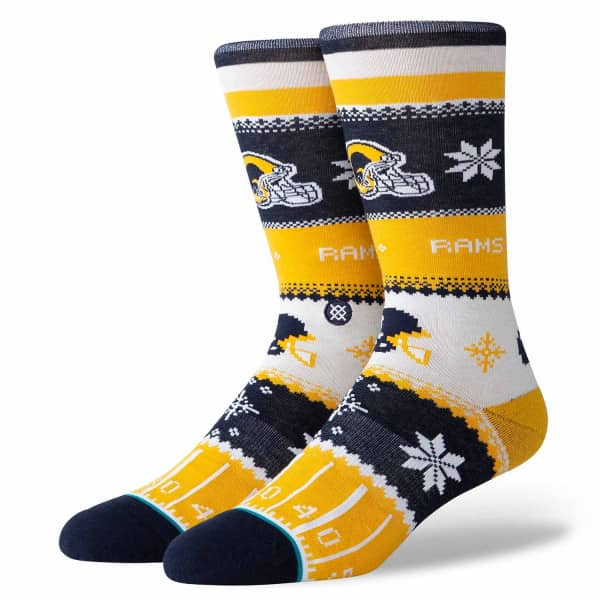 Los Angeles Rams Holiday Sweater NFL Socken