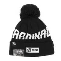 Arizona Cardinals Black 2019 NFL Sideline Sport Knit Wintermütze Road