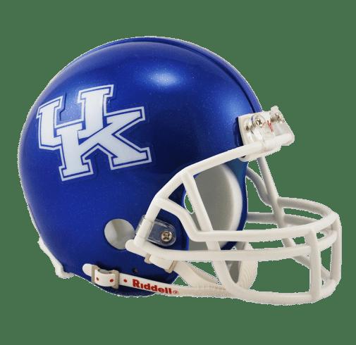 Kentucky Wildcats College Football Mini Helmet