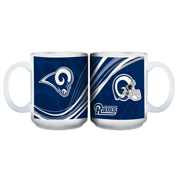 Los Angeles Rams Dynamic Jumbo NFL Becher (440 ml)