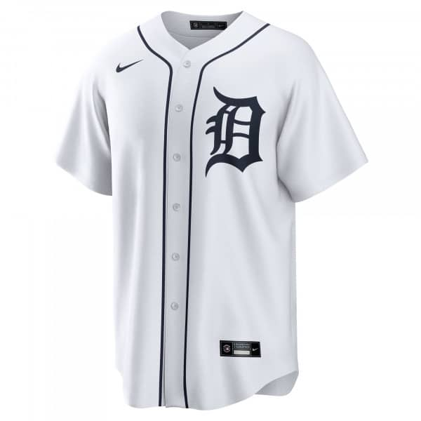 Detroit Tigers 2020 Nike MLB Replica Home Trikot Weiß