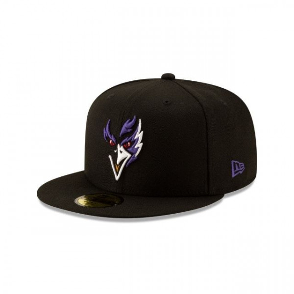 Baltimore Ravens Logo Elements 59FIFTY Fitted NFL Cap