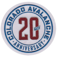 Colorado Avalanche 20th Anniversary NHL Eishockey Patch / Aufnäher