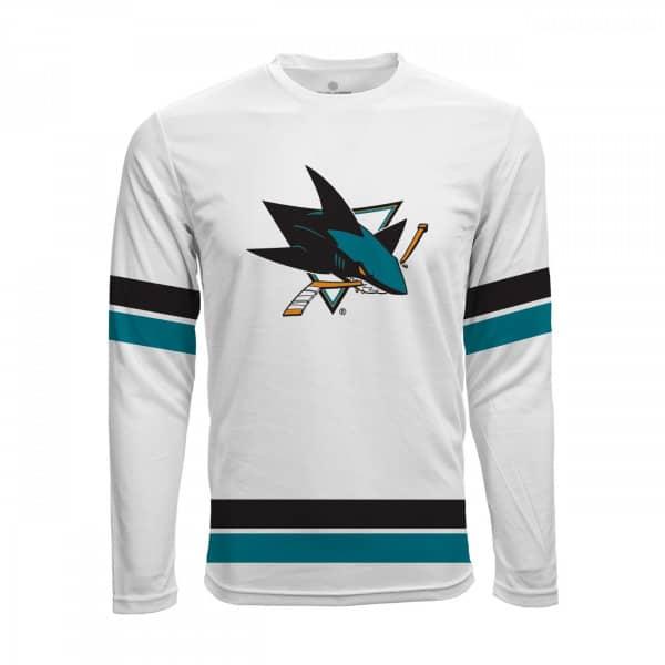 San Jose Sharks Scrimmage NHL Fantrikot