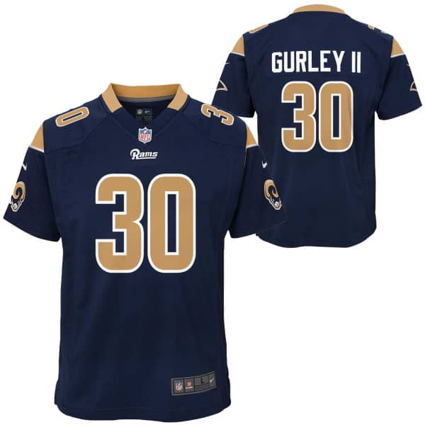 d9c4ffa31 Nike Todd Gurley II  30 Los Angeles Rams Youth Game Football NFL ...