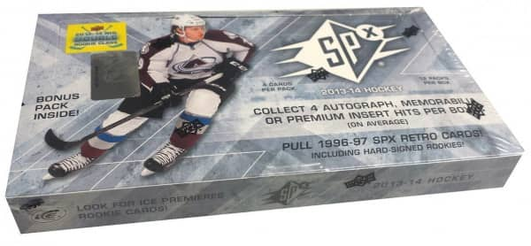 2013/14 Upper Deck SPx Hockey Hobby Box NHL