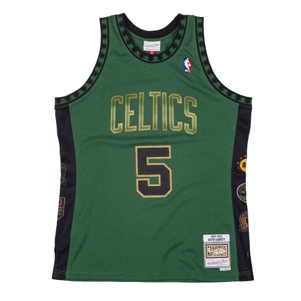 Kevin Garnett #5 Boston Celtics HOF 1995-2016 Mitchell & Ness Swingman NBA Trikot