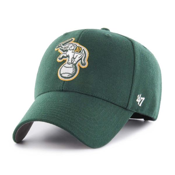 Oakland Athletics Elephant Logo '47 MVP Adjustable MLB Cap