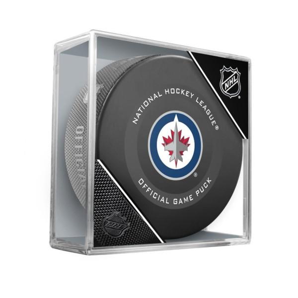 Winnipeg Jets NHL Official Game Puck