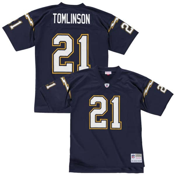 510e0e8f LaDainian Tomlinson #21 San Diego Chargers Legacy Throwback NFL Jersey