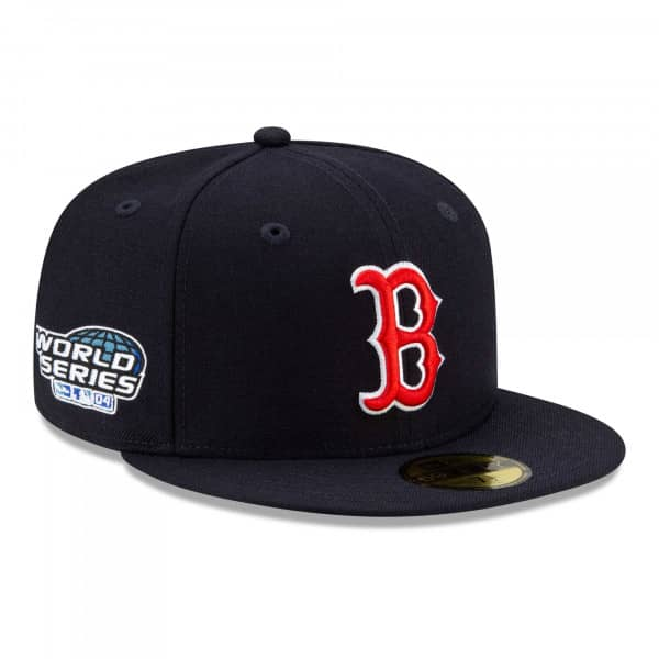 Boston Red Sox 2004 World Series Paisley New Era 59FIFTY Fitted MLB Cap