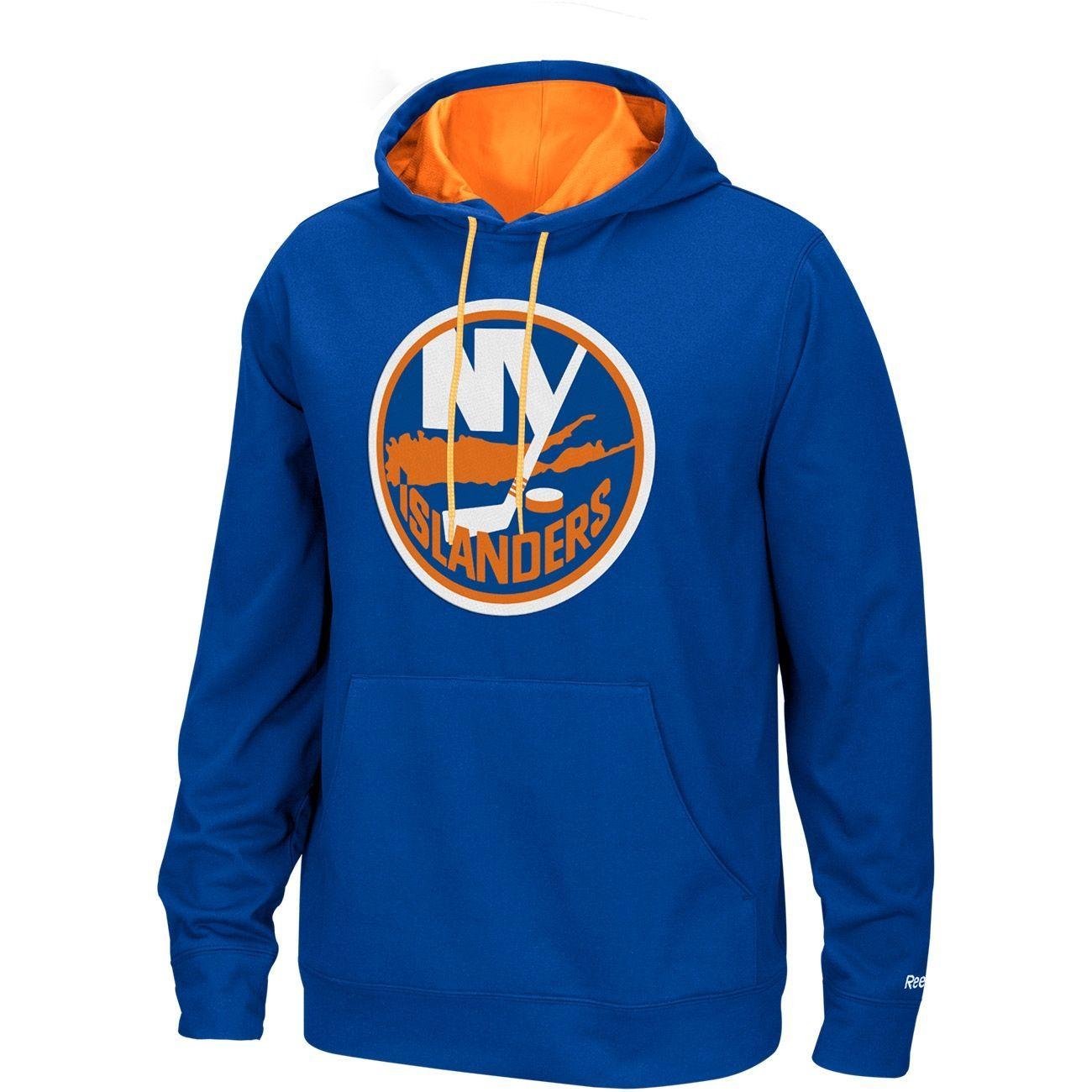 Reebok New York Islanders Playbook Hoodie NHL Sweatshirt ...