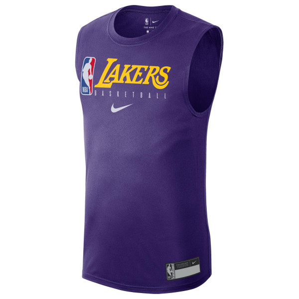 new style 4b925 f0bda Los Angeles Lakers 2019/20 NBA Practice Performance Tank Top