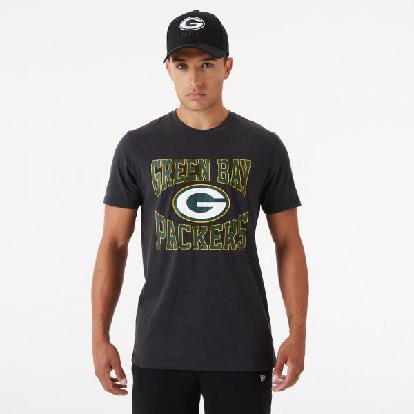 Green Bay Packers Team Arch New Era NFL T-Shirt Dunkelgrau