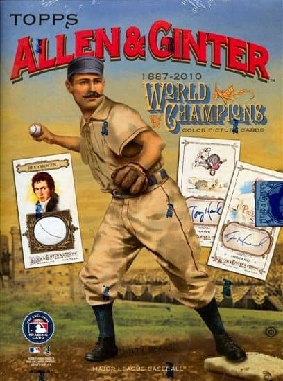 2010 Topps Allen & Ginter Baseball Hobby Box MLB