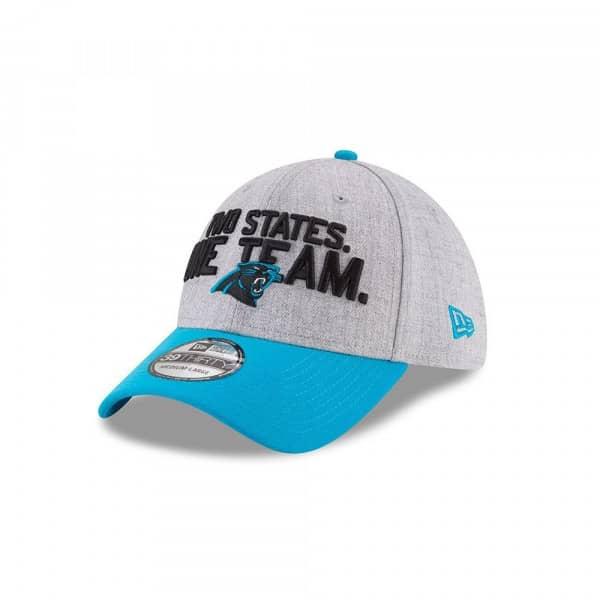 Carolina Panthers 2018 NFL Draft 39THIRTY Flex Fit Cap