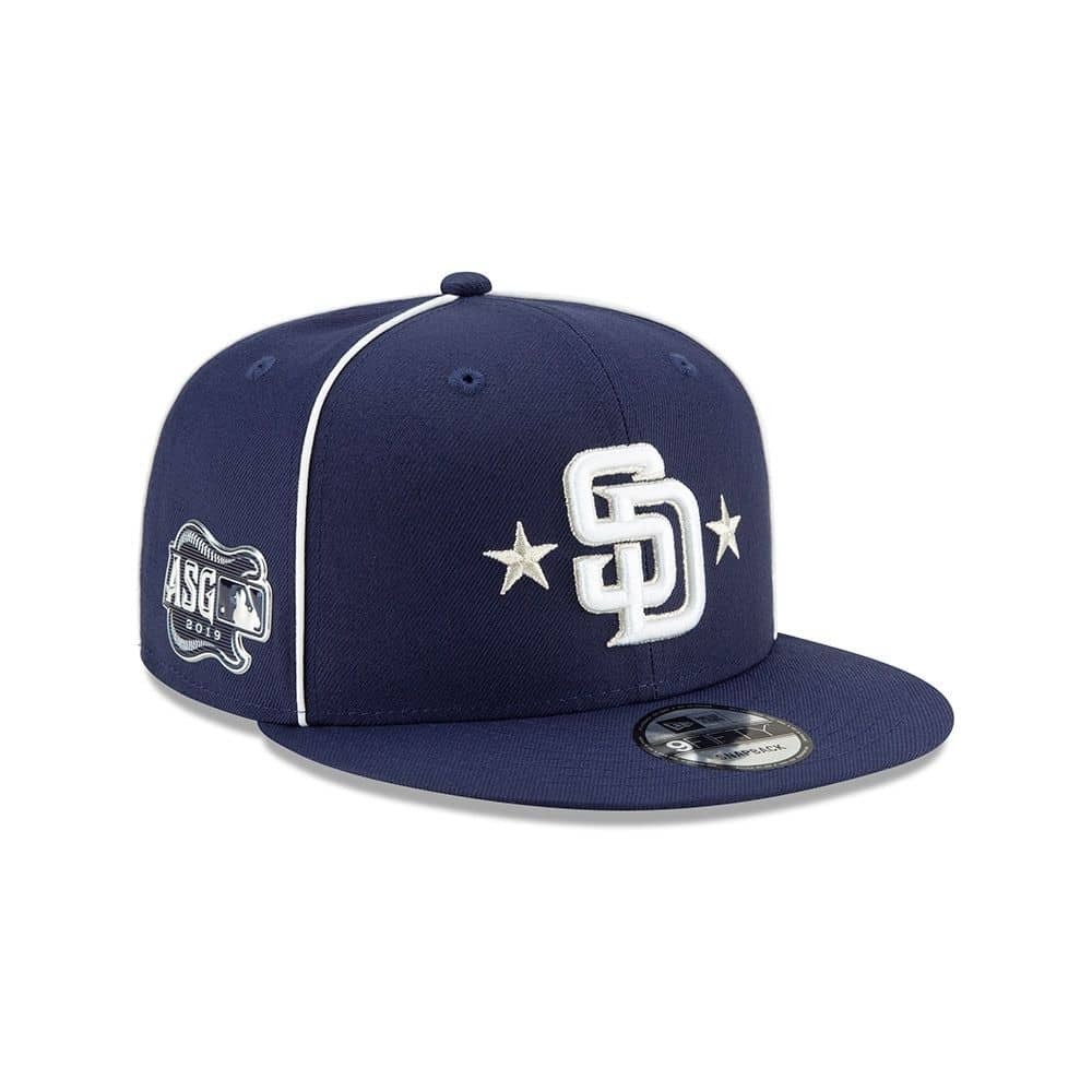 4b6a9422043b2a New Era San Diego Padres 2019 MLB All Star Game 9FIFTY Snapback Cap |  TAASS.com Fan Shop