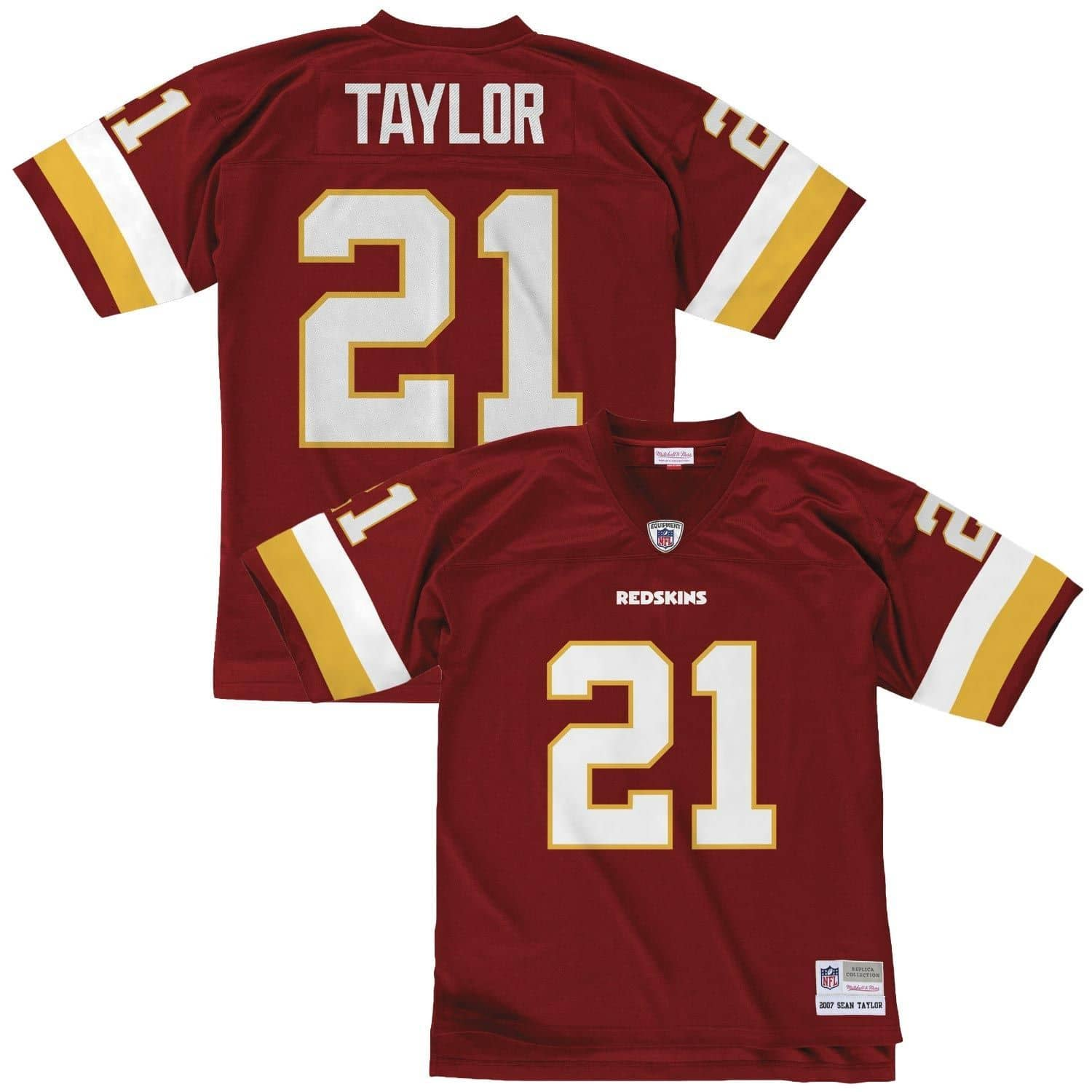 outlet store c09e2 9be3a Sean Taylor #21 Washington Redskins Legacy Throwback NFL Jersey Red