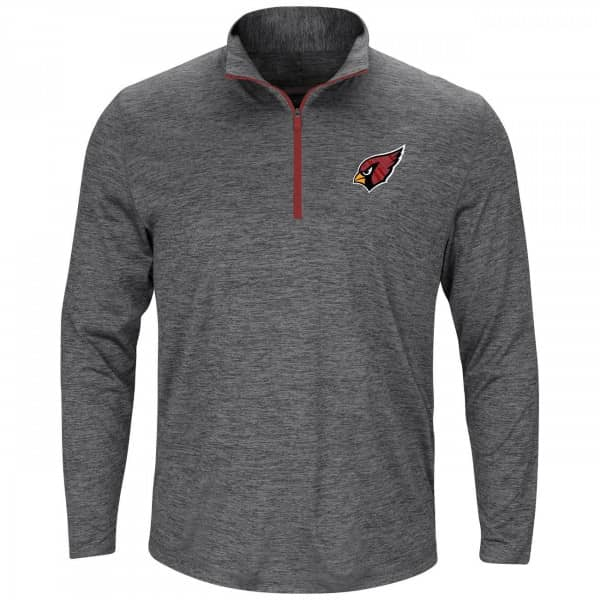 Arizona Cardinals Intimidating 1/4 Zip NFL Long Sleeve Shirt
