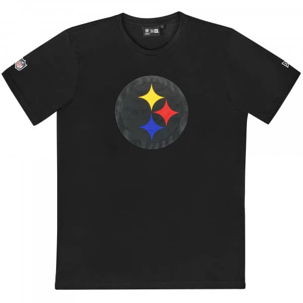 Pittsburgh Steelers Elements 2.0 New Era NFL T-Shirt Schwarz