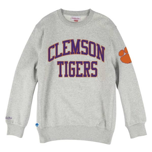 Clemson Tigers Playoff Win Mitchell & Ness NCAA Crew Neck Sweater