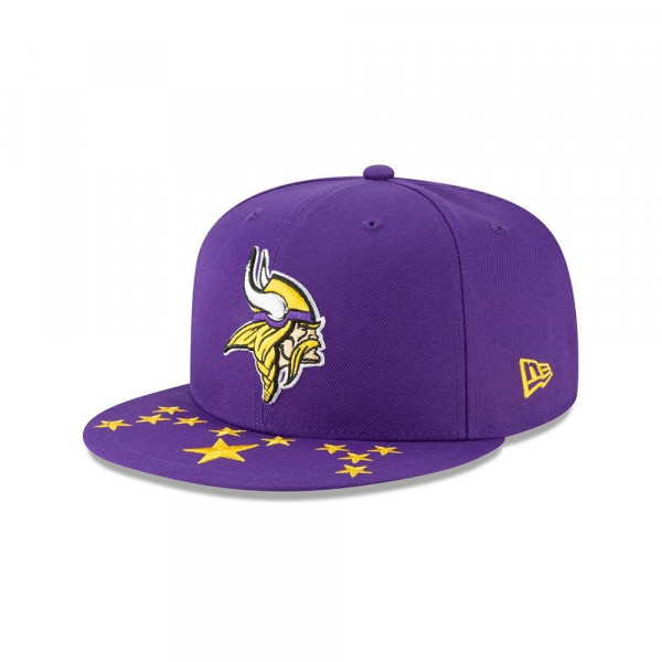Minnesota Vikings 2019 NFL Draft On-Stage 9FIFTY Snapback Cap