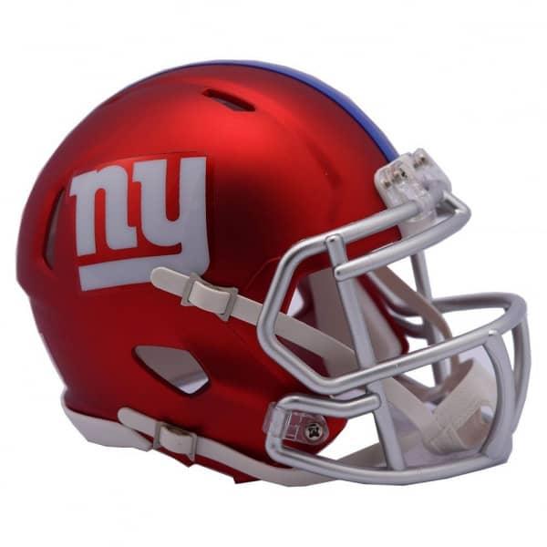 New York Giants NFL Blaze Alternate Speed Mini Helm