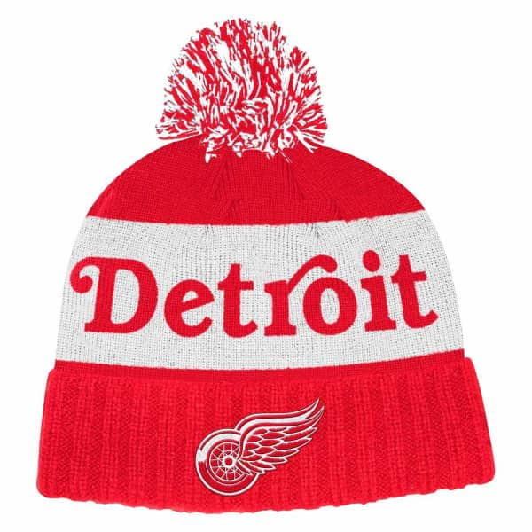 Detroit Red Wings 2019/20 Culture Cuffed NHL Pudelmütze