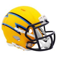 Los Angeles Chargers AMP Alternate NFL Speed Mini Helm
