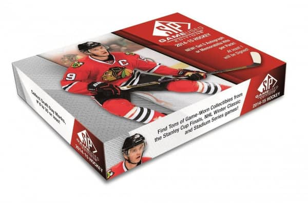 2014/15 Upper Deck SP Game Used Hockey Hobby Box NHL