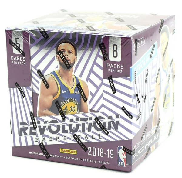 2018/19 Panini Revolution Basketball Hobby Box NBA