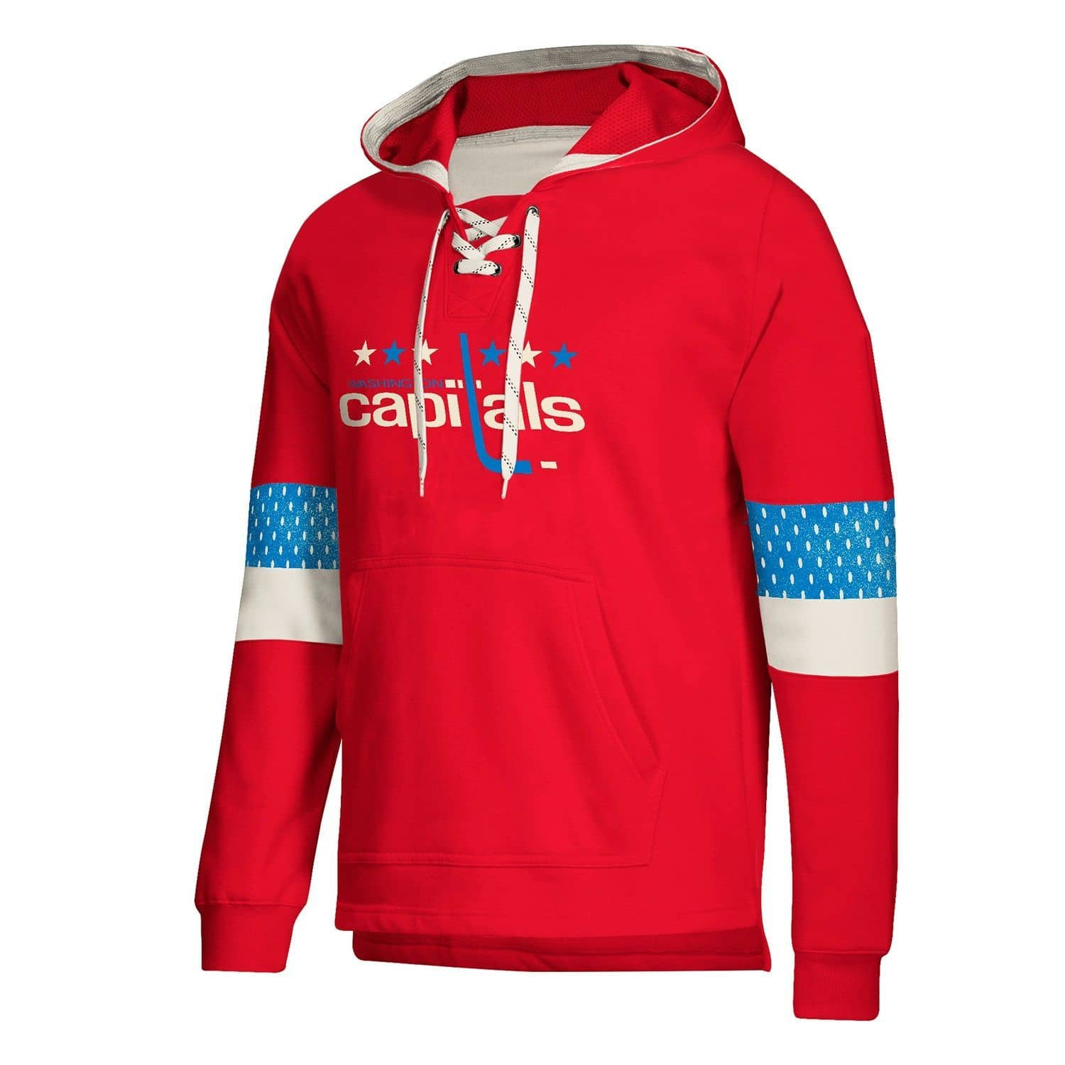 newest e408f 3f030 Washington Capitals Vintage NHL Jersey Hoodie