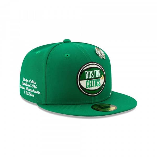 Boston Celtics 2019 NBA Draft 59FIFTY Fitted Cap