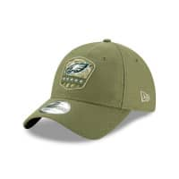 Philadelphia Eagles 2019 On-Field Salute to Service 9TWENTY NFL Cap