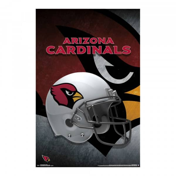 Arizona Cardinals Helmet Football NFL Poster