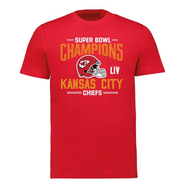 Kansas City Chiefs Super Bowl LIV Champions Punt Return NFL T-Shirt