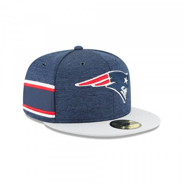 half off d3a3e 26541 New Era New England Patriots 2018 NFL Sideline 59FIFTY Fitted Cap Home    TAASS.com Fan Shop