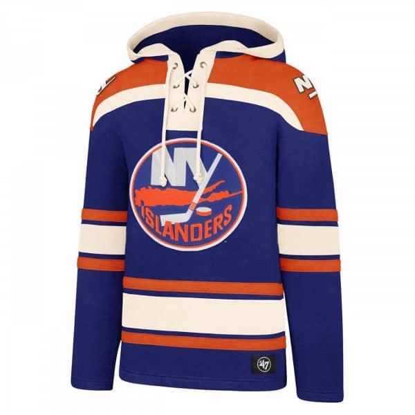 New York Islanders Lacer Jersey Hoodie NHL Sweatshirt