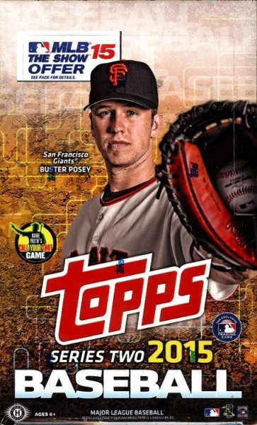 2015 Topps Series 2 Baseball Hobby Box MLB