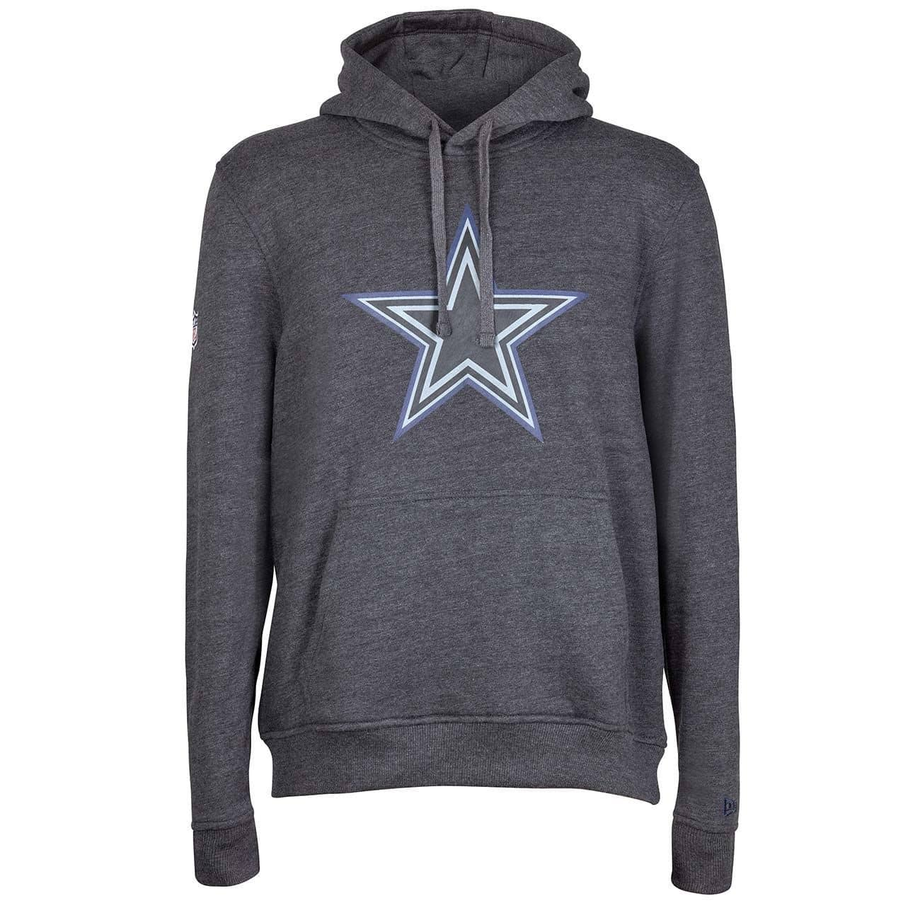 11d478844 New Era Dallas Cowboys 2017 Grey Collection Hoodie NFL Sweatshirt ...