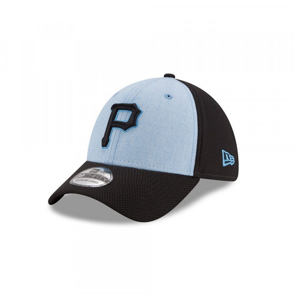 Pittsburgh Pirates 2018 Father's Day 39Thirty Stretch Fit MLB Cap