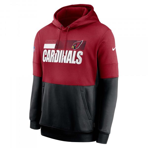 Arizona Cardinals 2020 NFL Sideline Lockup Nike Therma Hoodie