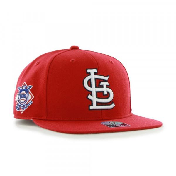 to buy 81554 9ac70  47 Brand St. Louis Cardinals Sure Shot Snapback MLB Cap Red   TAASS.com  Fan Shop