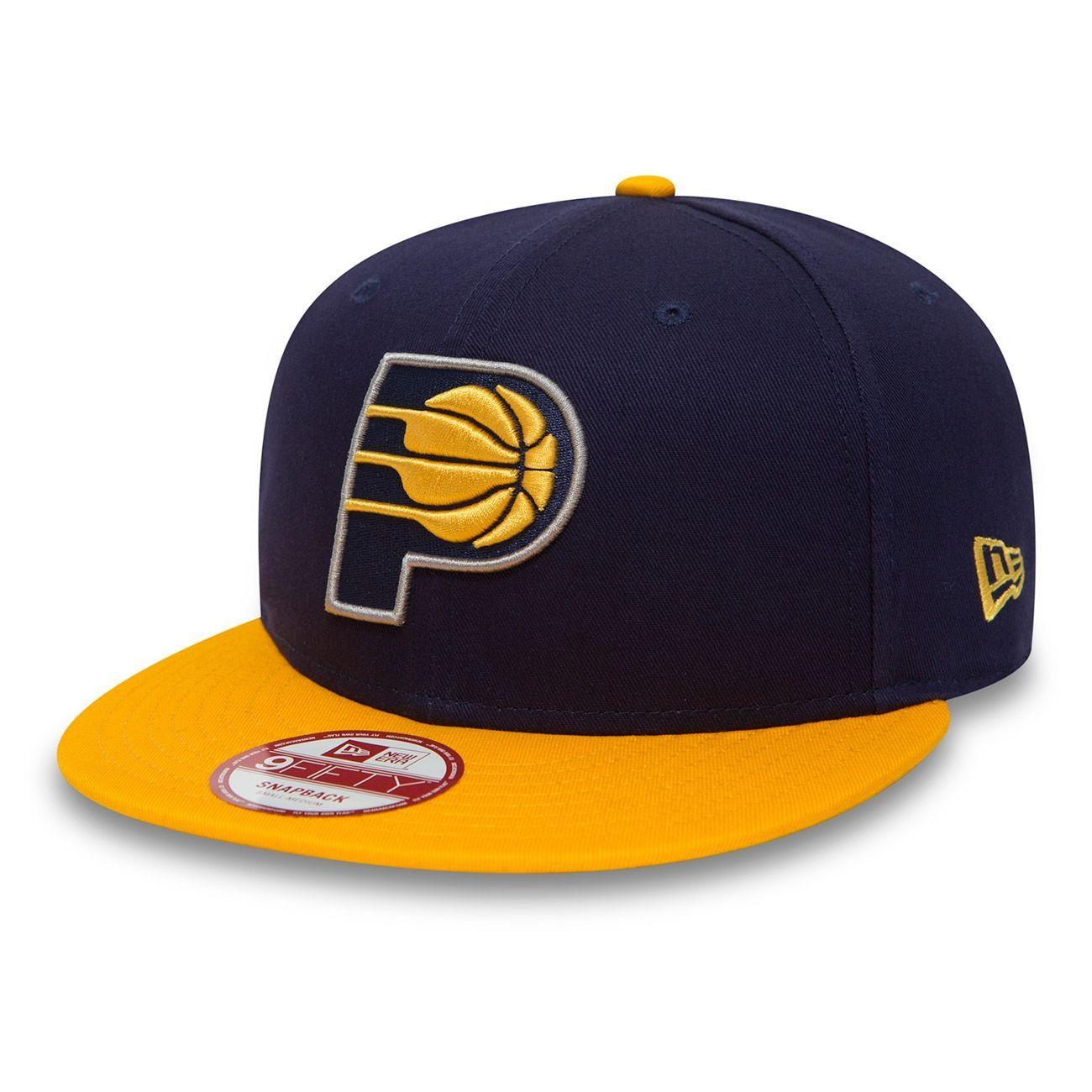 san francisco 7bb87 1927e New Era Indiana Pacers 2-Tone Team 9FIFTY Snapback NBA Cap M L   TAASS.com  Fan Shop