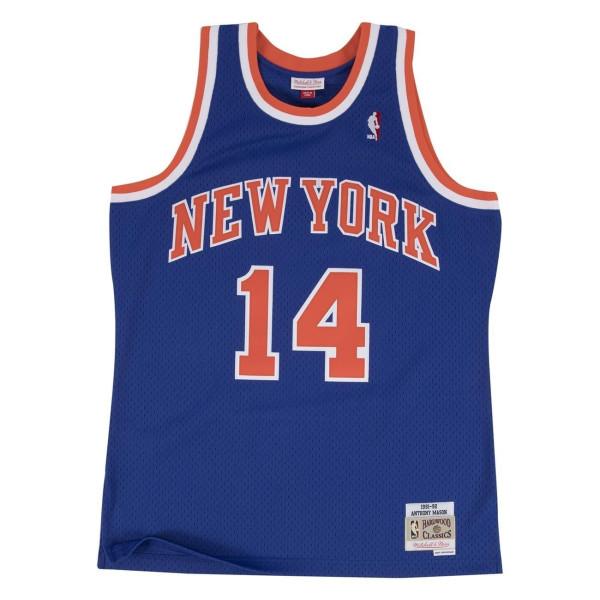 Anthony Mason #14 New York Knicks 1991-92 Swingman NBA Trikot