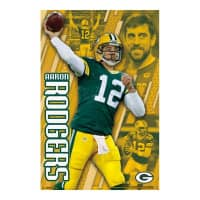 Green Bay Packers Aaron Rodgers Superstar NFL Poster